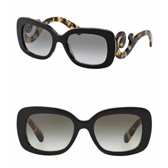 37263694f8cc NEW    Prada Minimal Baroque Sunglasses